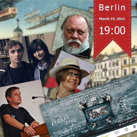 banner Modern Ukrainian and German Poetry RETURN of CZERNOWITZ in Berlin
