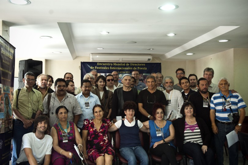 Founding group of the World Poetry Movement (WPM)